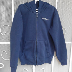 Boy's Carhartt Brand Hoodie Size 6-7 in good cond